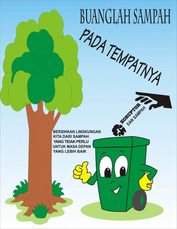 15 Contoh Gambar Dan Teks Poster Pendidikan Kesehatan Lingkungan Sederhana Tapi Menarik Contoh Contoh Surat
